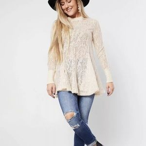 NWT Free People Tunic or Dress Ivory